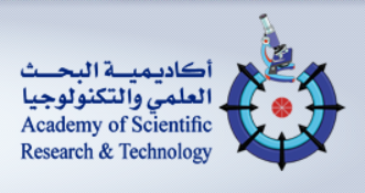 Logo of Academy for Scientific Research and Technology
